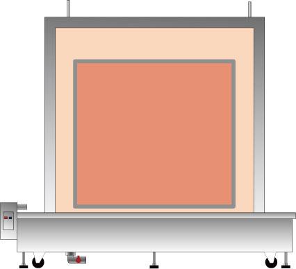 대형 후레임 세척용 열수조(熱水槽)